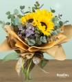 Bouquet di 3 Girasoli Piccoli