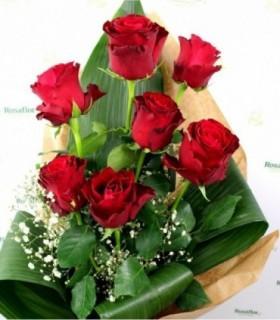Perfezione - Mazzo 7 Rose