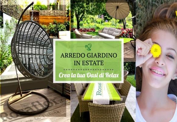 Arredo giardino in estate | Trasforma il tuo spazio verde in un'oasi di relax