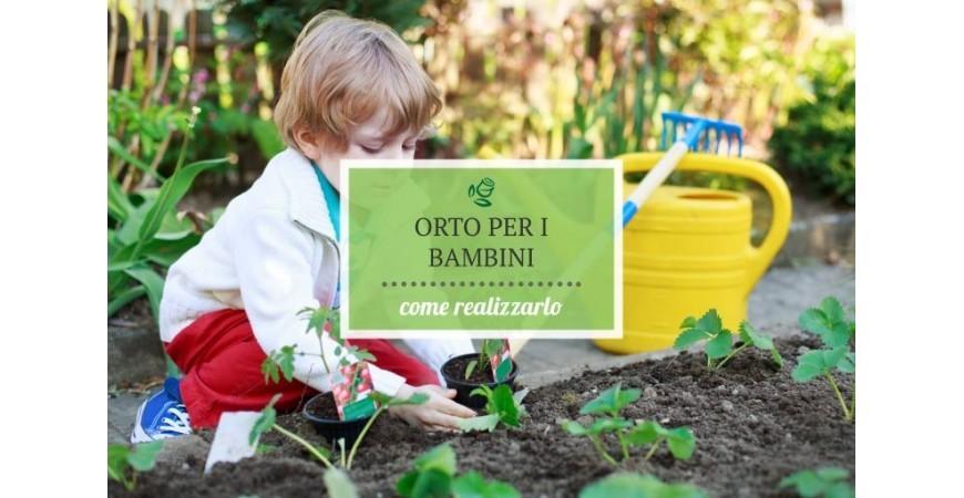 L'orto per i bambini